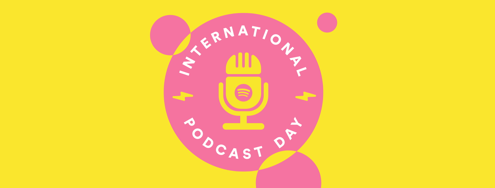 Celebrate Spotify S Biggest Year For Podcasts This International Podcast Day Spotify