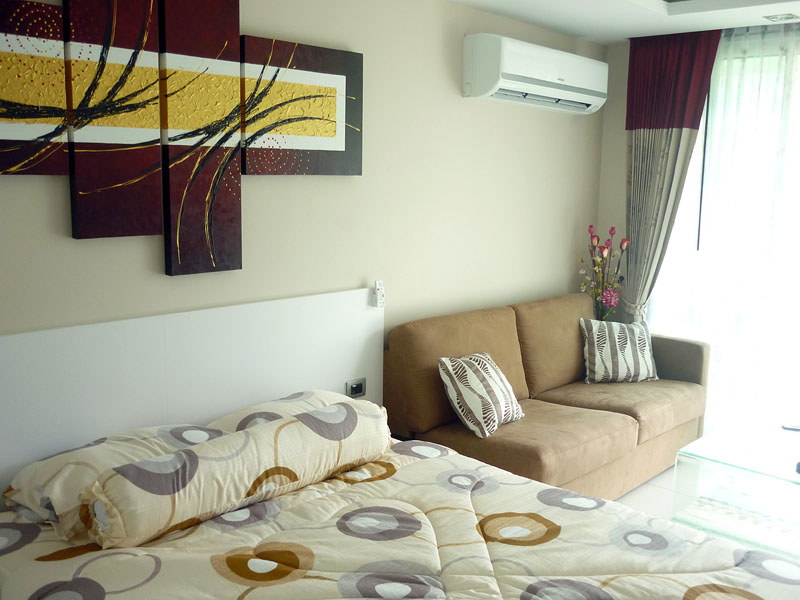 Studio apartment  condo for Rent in South Pattaya