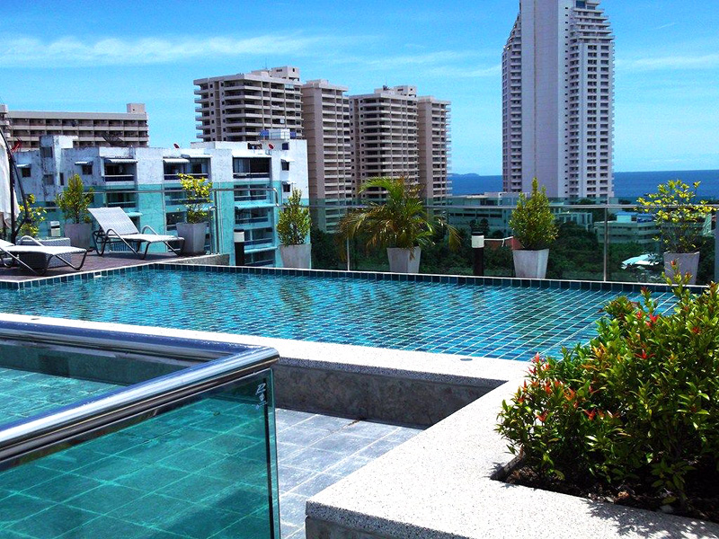 Studio apartment  condo for Rent in Pratumnak
