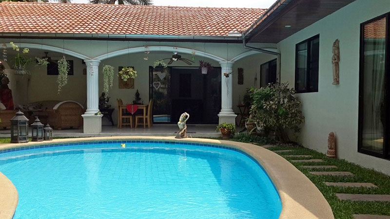 Villa Close To Jomtien Beach