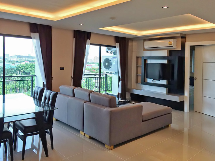 Two bedroom  condo for Rent in East Pattaya