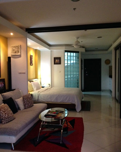 Studio apartment  condo for Rent in Central Pattaya