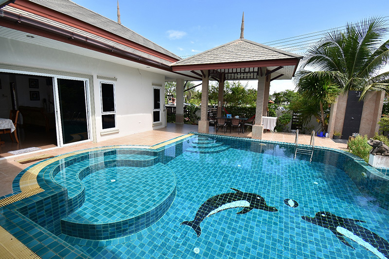 Four bedroom  house for Sale in East Jomtien - Huay Yai