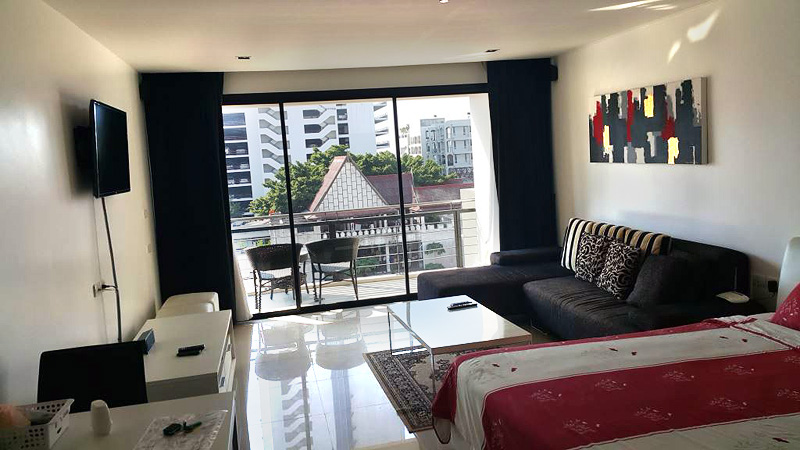 Studio apartment  condo for Rent in North Pattaya