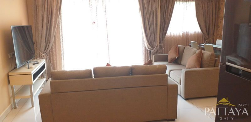 Two bedroom  condo for Rent in Jomtien