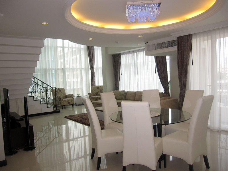 Three bedroom  condo for Rent in Central Pattaya