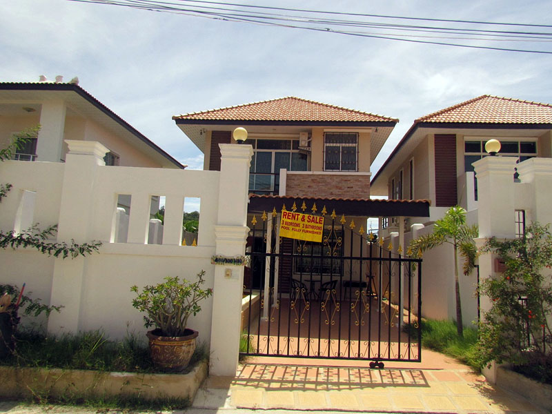 Three bedroom  house for Sale and Rent in South Pattaya