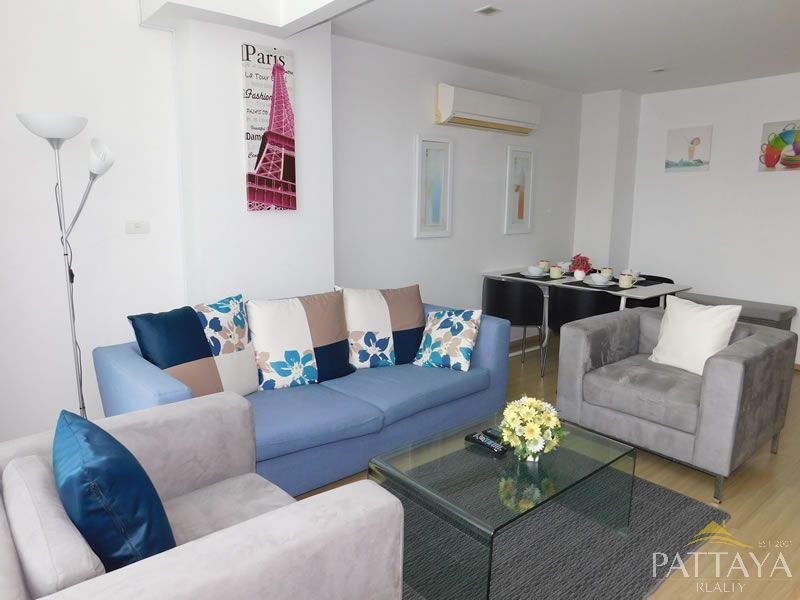 Two bedroom Luxury Penthouse  condo for Rent in South Pattaya