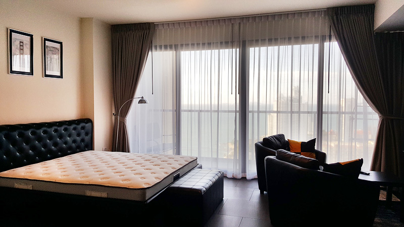 Studio apartment  condo for Rent in Wong Amat
