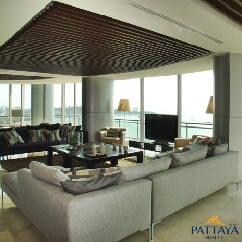 Three bedroom Luxury Penthouse  condo for Sale in North Pattaya