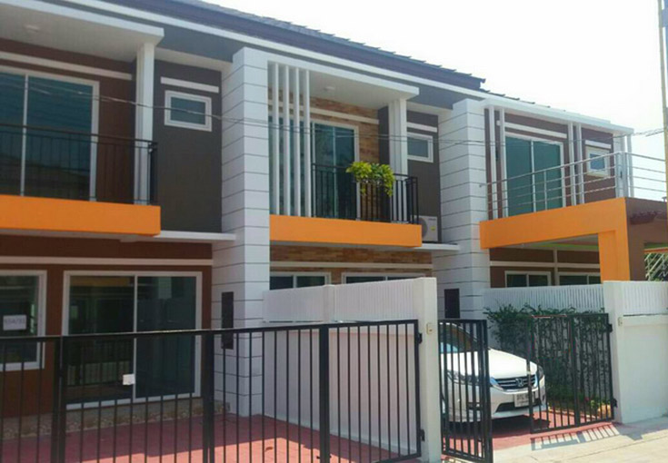 Two bedroom  townhouse for Rent in East Naklua