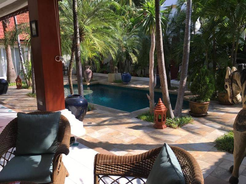Luxury Asian Style Boutique Villa, only 200 metres from Jomtien Beach