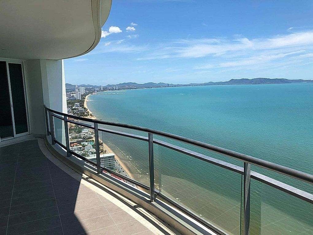 Beachfront 3 Bedrooms Condo for Sale & Rent - Jomtien