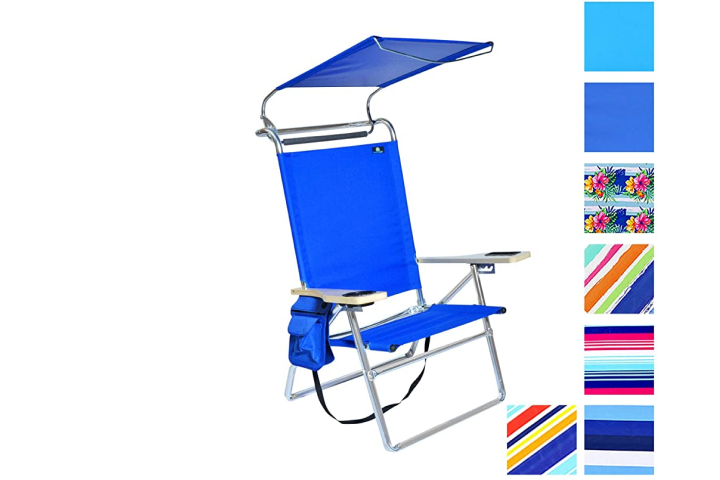 summer beach days, beach chair, summer sun, sun protection, lake day, lake gear, beach gear, beach products, chair with canopy, sun cover, family, mom gear, summer gear