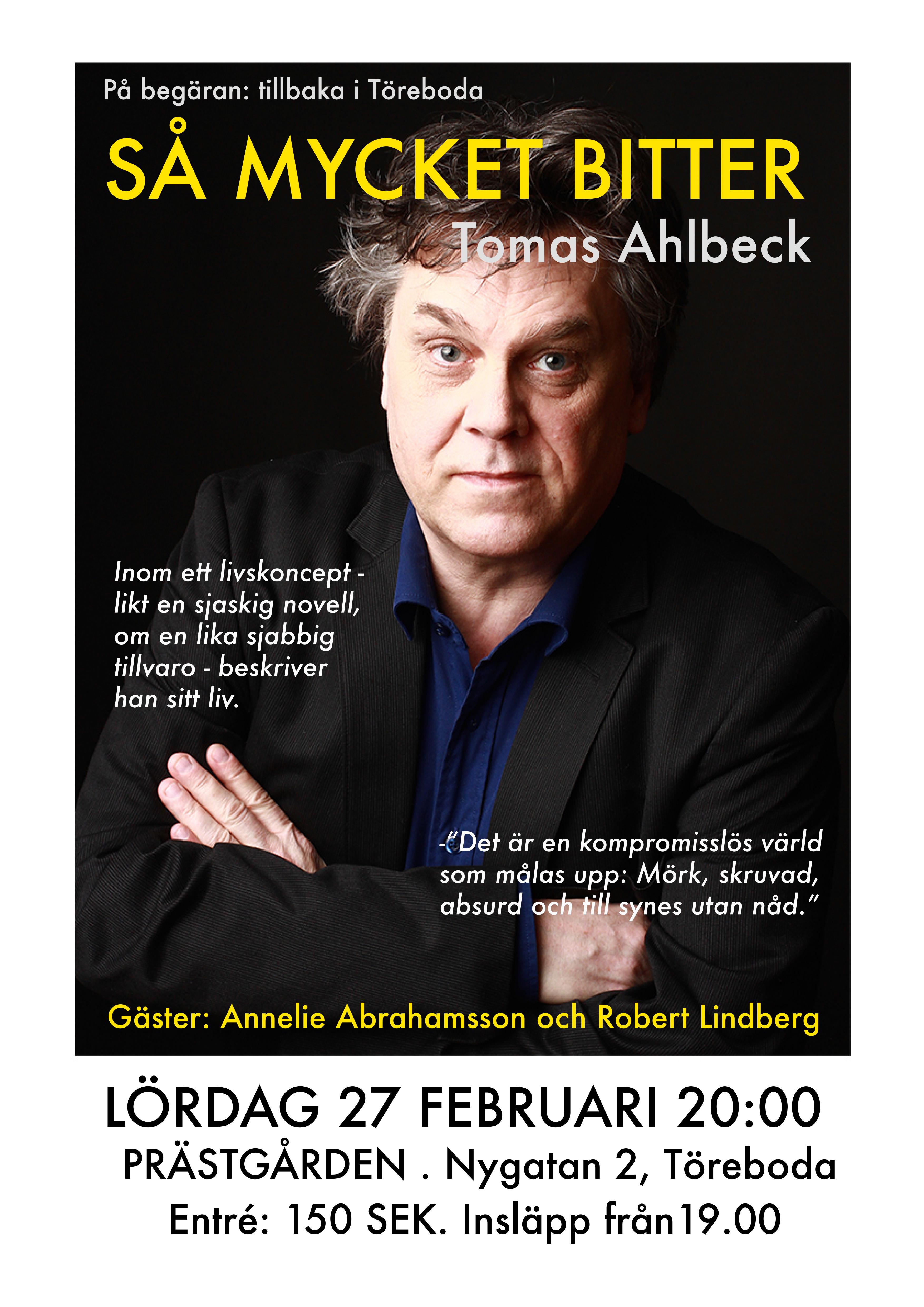 Tomas Ahlbeck Prästgården Töreboda