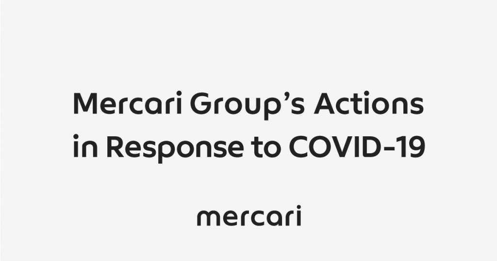 Mercari Group's Actions in Response to COVID-19