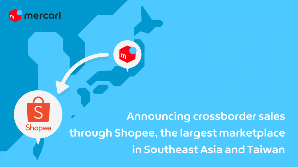 Mercari Begins Crossborder Sales<br />to Taiwan Through Shopee