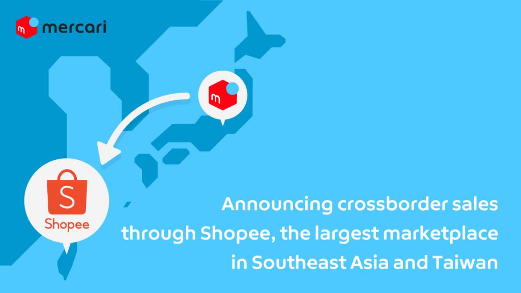 Mercari Begins Crossborder Sales<br />to Taiwan Through Shopee