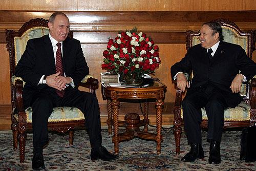 Le pari de Poutine sur les généraux algériens