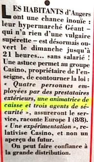 """Dans le """"Canard enchaîné"""" du 21 août 2019"""
