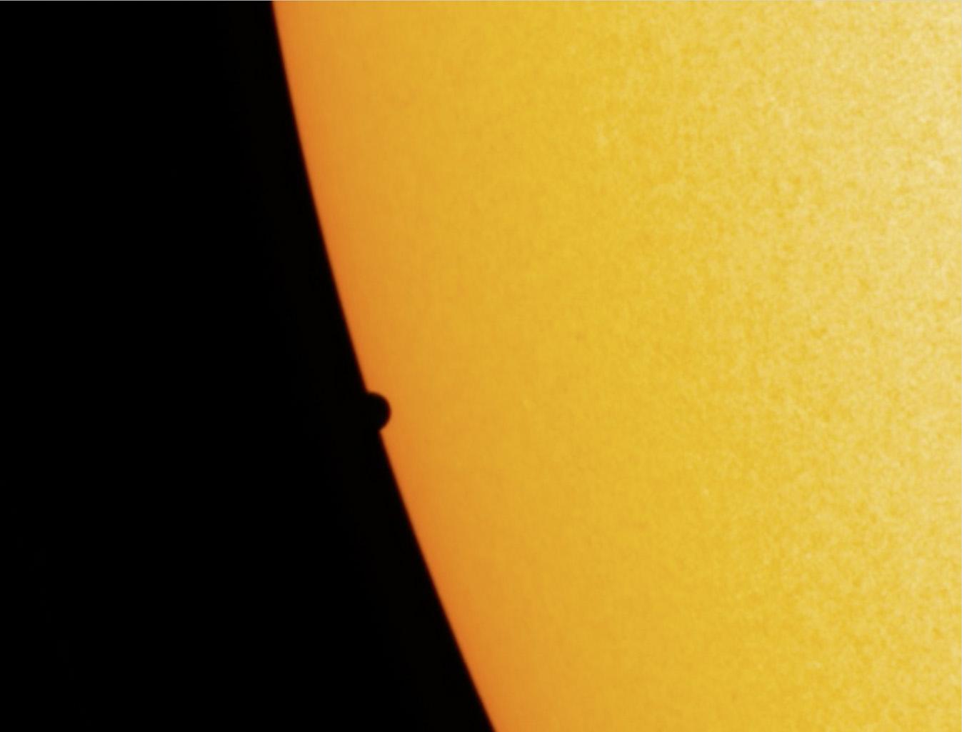 Mercure et le Soleil