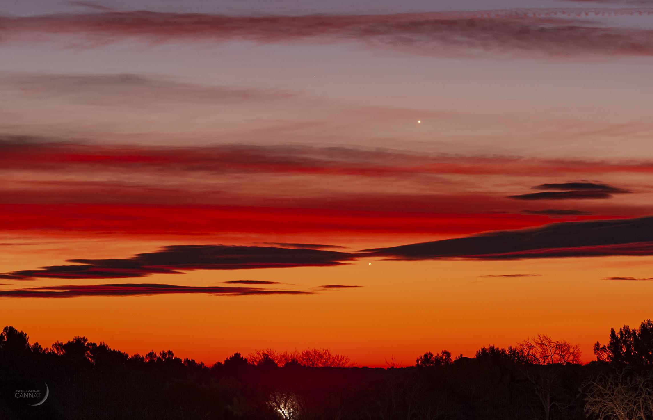 Reperez Les Planetes A L œil Nu En Decembre Autour Du Ciel