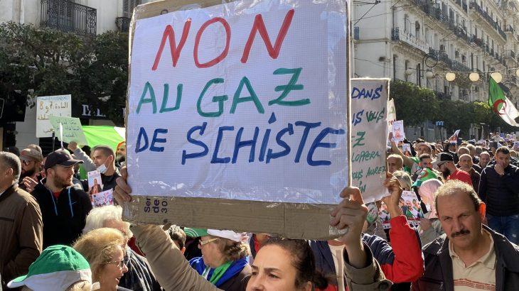 La contestation relancée en Algérie par le refus du gaz de schiste