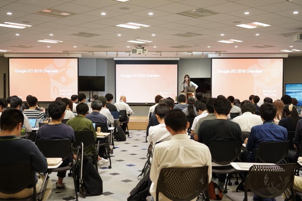 Google I/O 2018 わいわい報告会を開催しました #io18jp