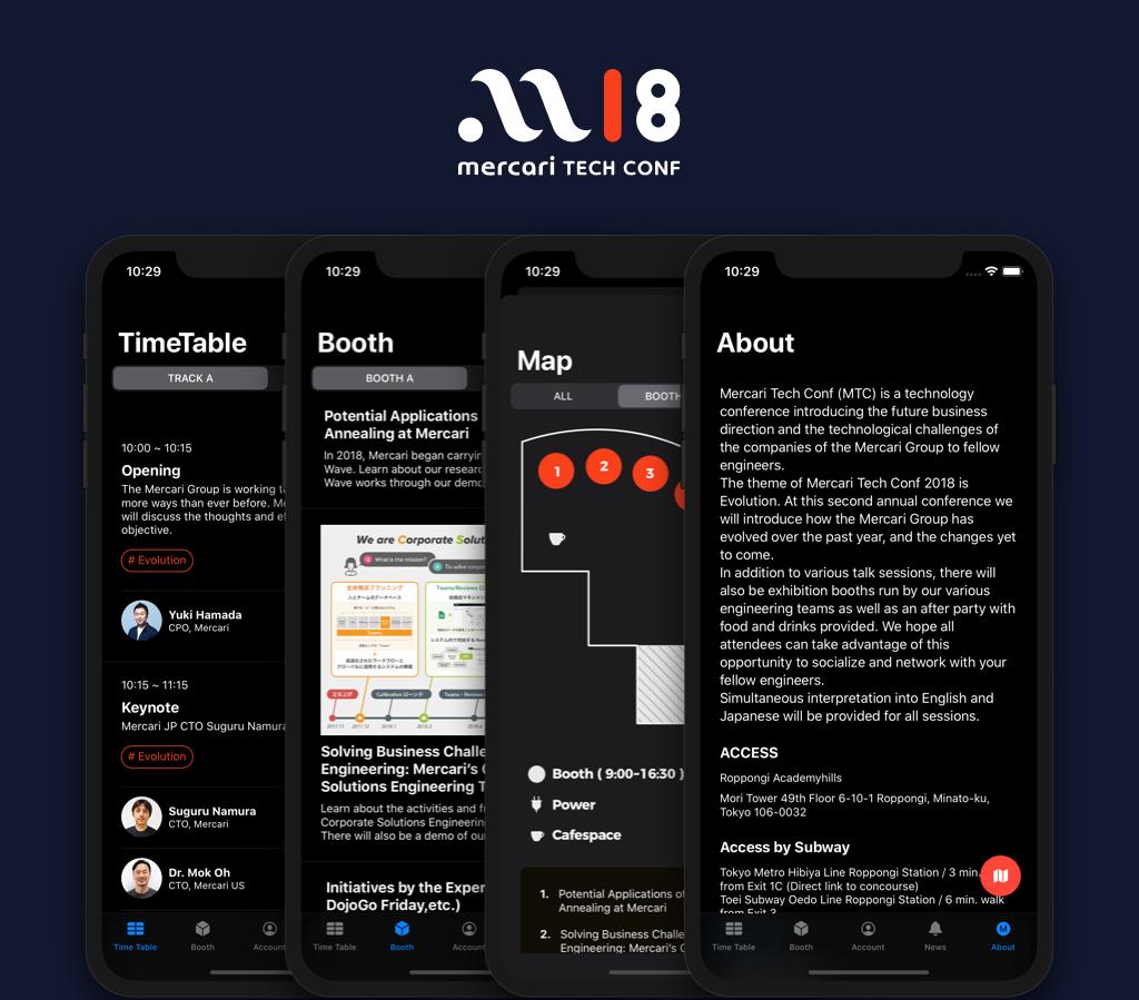 Flutter製MTC2018アプリをSwiftUIでリライトした話