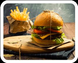 Radyes burger