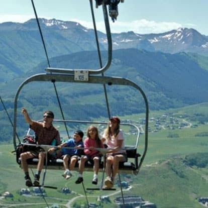 Crested Butte Summer Chairlift Ride