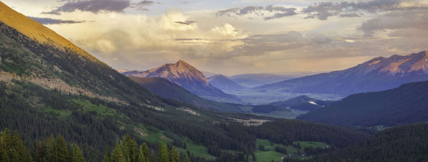 Crested Butte in the Summer