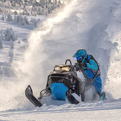 Snowmobiling in the Backcountry