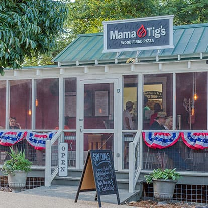 Mama Tig's Wood Fired Pizza