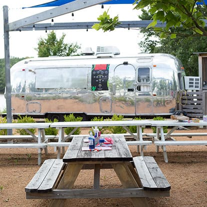 Airstream Trailer Food Truck