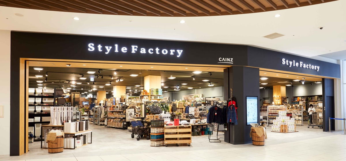 Style Factory ららぽーと海老名店店舗内風景