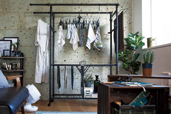 お部屋に馴染んで毎日の洗濯がラクになるアイテム