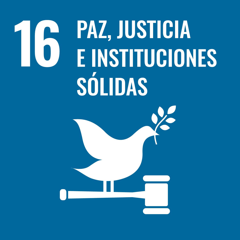 ODS 16 - Paz, Justicia e instituciones sólidas