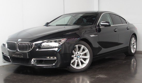 BMW 640 I GRAN COUPE 320 PK ZWART FULL OPTION