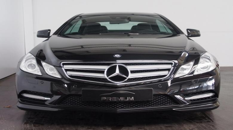 Mercedes E 220 CDI BleuEFFICIANCY COUPE ZWART