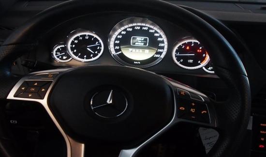 Mercedes E 220 CDI BleuEFFICIANCY COUPE NOIR