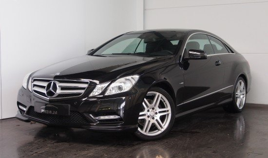 Mercedes E 220 CDI BleuEFFICIANCY COUPE ZWART