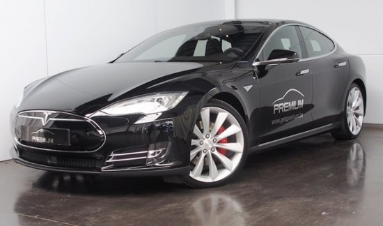 Tesla Model S P85D PERFORMANCE 2015  - Véhicule Direction