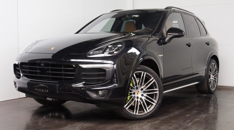 Porsche Cayenne E HYBRID PLATINUM EDITION LED NATUURLEDER BICOLOR FULL OPTION