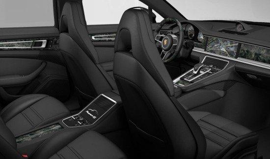 Porsche Panamera 4S MODEL 2017 VULCANOGREY VOLLEDER ZWART LED MASSAGEZETELS FULL OPTION