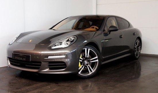 Porsche Panamera E HYBRID GRIS AGATE 2013 CUIR PLEIN BEIGE FULL OPTION