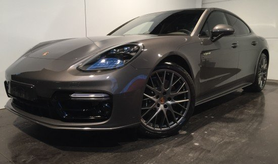 Porsche Panamera NEW E-HYBRID AGATE GRIS 462CV CUIR GRISAGAAT DEL PANODAK