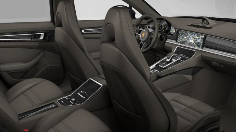 Porsche Panamera NEW E-HYBRID AGATE GRIJS 462PK AGAATGRIJSLEDER LED PANODAK