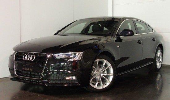 Audi  A5 ZWART