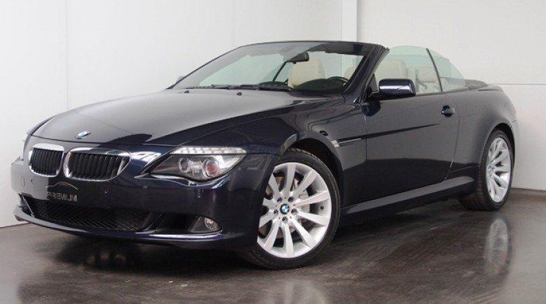 BMW 635 D CABRIOLET 286 PK